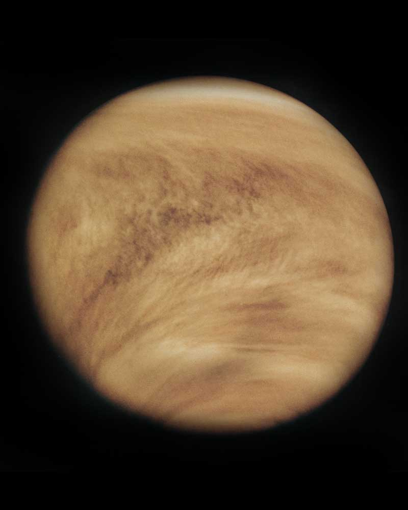 Venus's day is longer than its year.