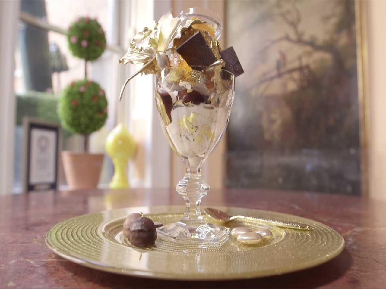 The Frrrozen Haute Chocolate ice cream sundae - $25,000 (£12,000), expensive, food, foods, people, life