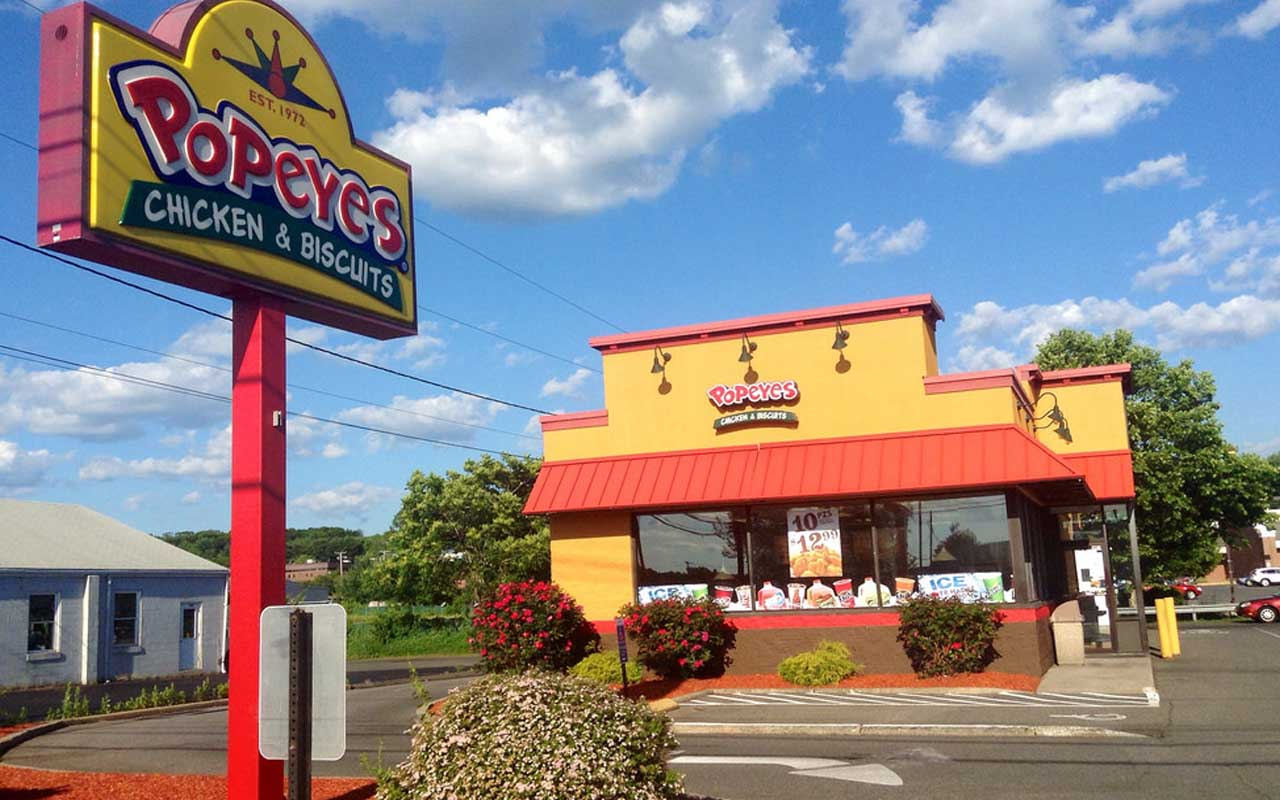 Popeyes, restaurant, food chain, brand