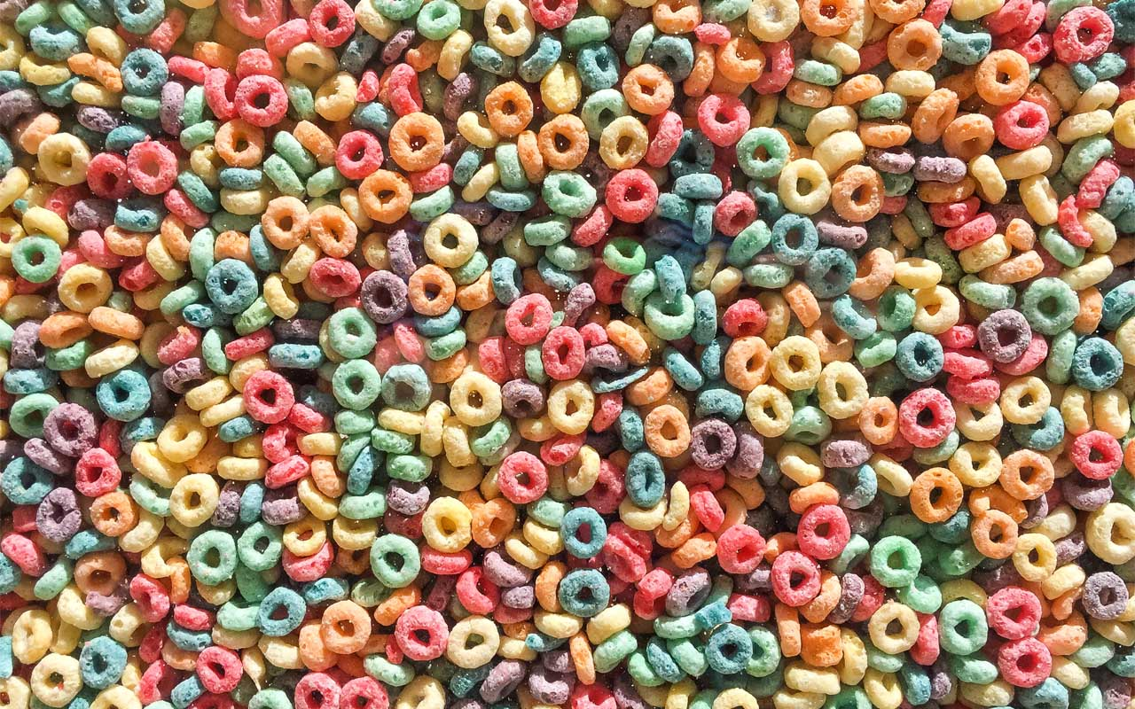 Fruit Loops, cereal, kids