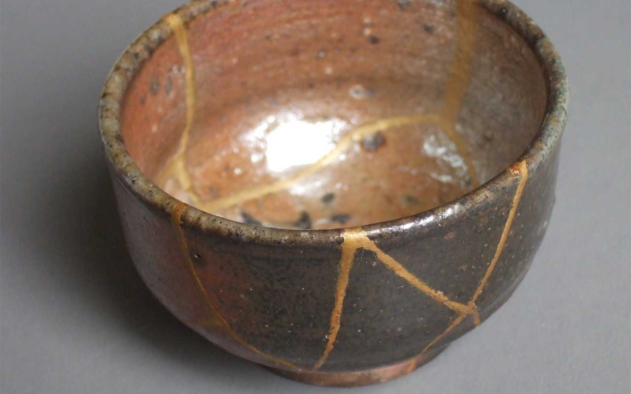 The Japanese practice Kintsugi