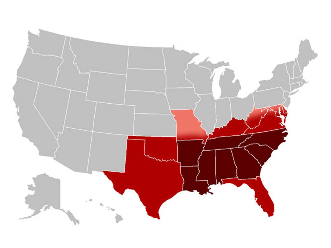 In the U.S., when it comes to mental illness, southern states have a higher prevalence than the rest of the country. Reports indicate that the rate of depression in Mississippi were 13.7% in contrast to North Dakota's 4.3%.