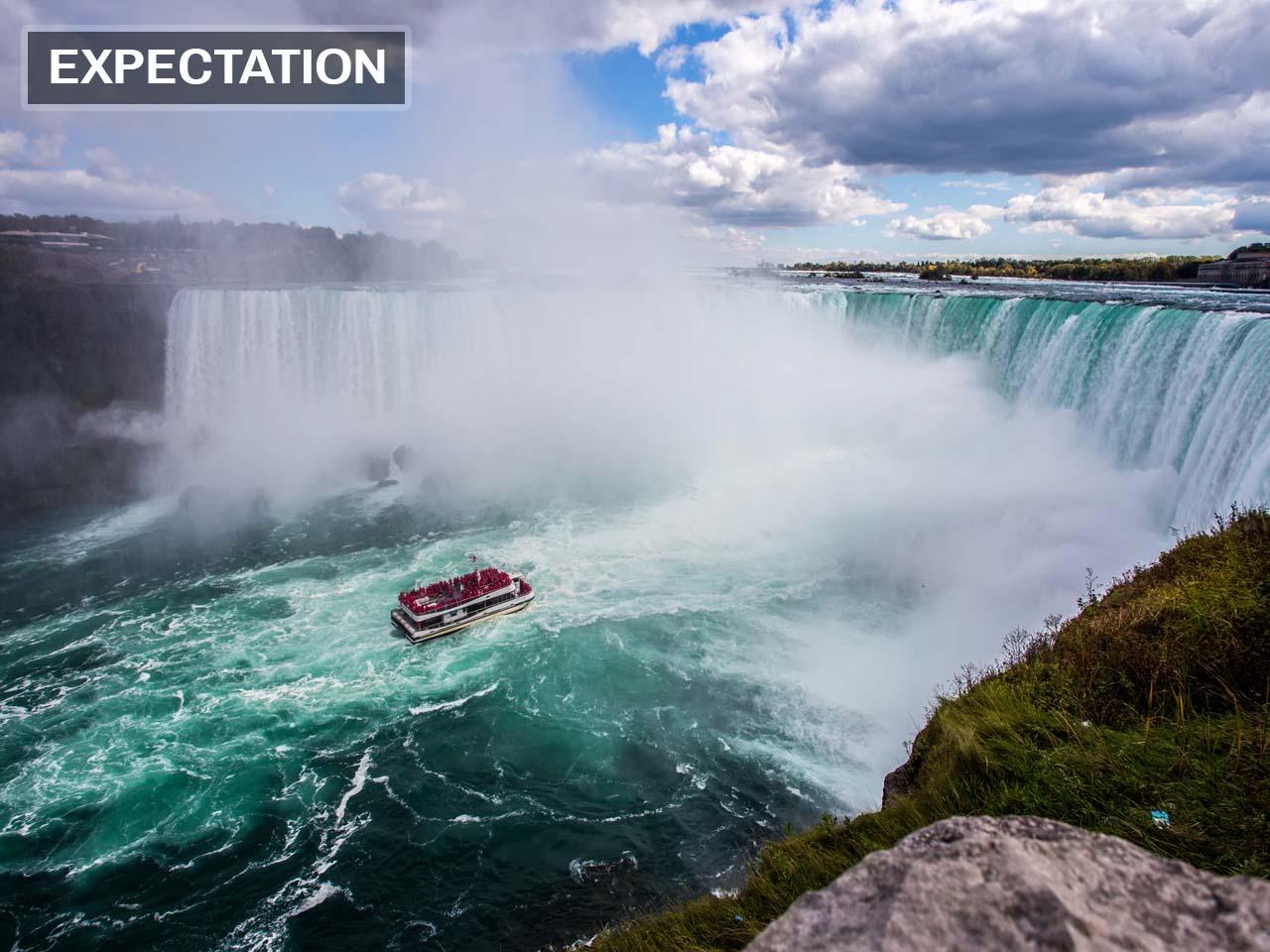 Niagara Falls is magical.