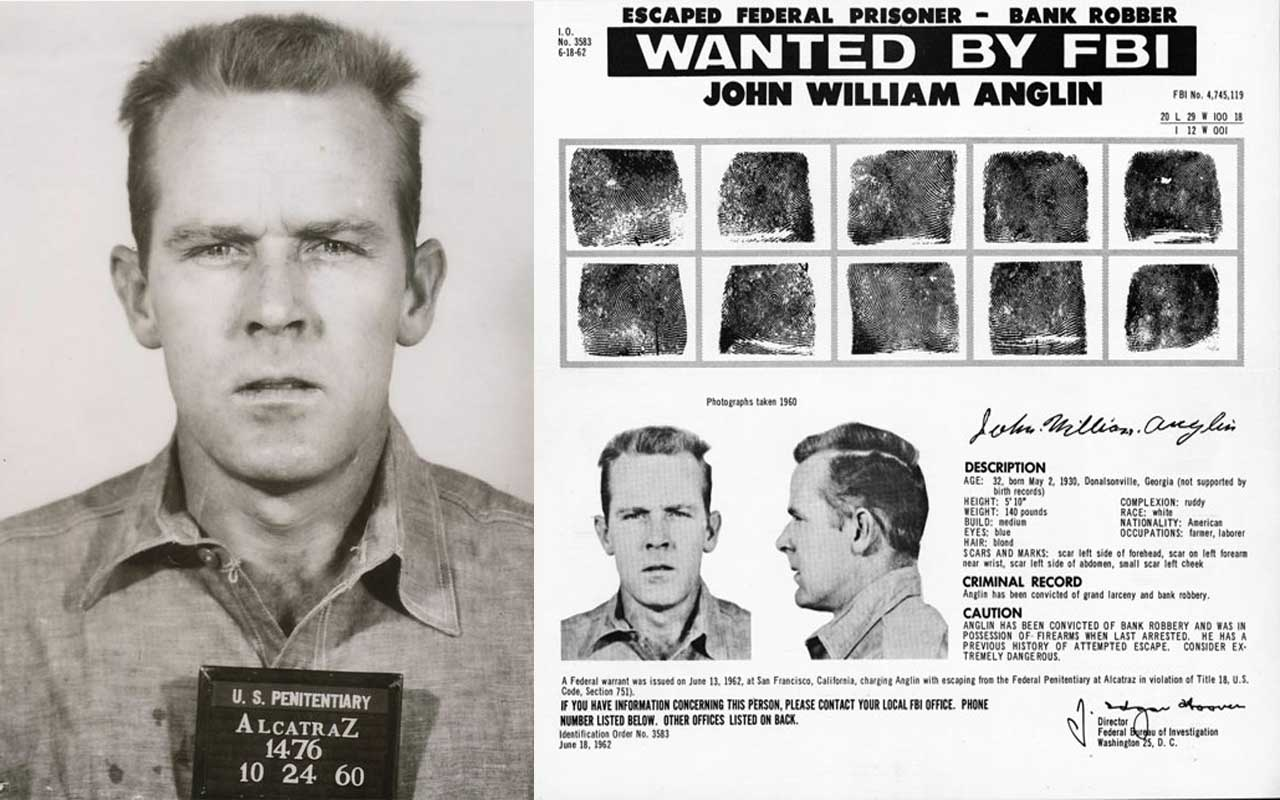 John and Clarence Anglin, Anglin brothers, Alcatraz escape