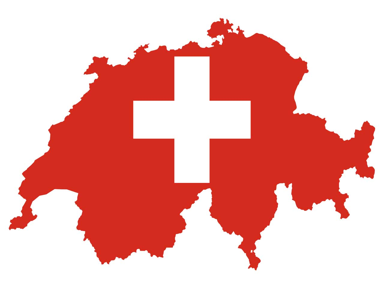 Until 1971, women didn't have the right to vote in Switzerland.
