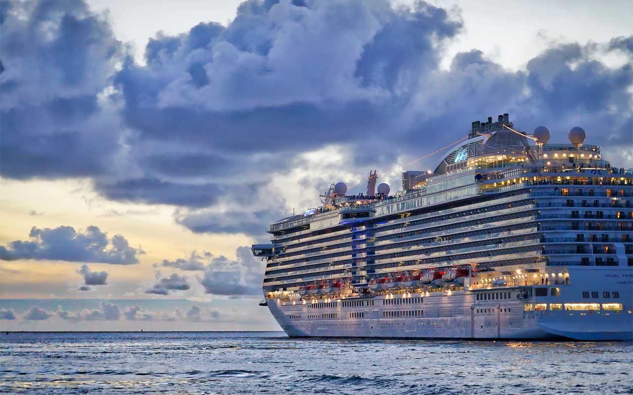 cruise, cargo, ship, travel, waste