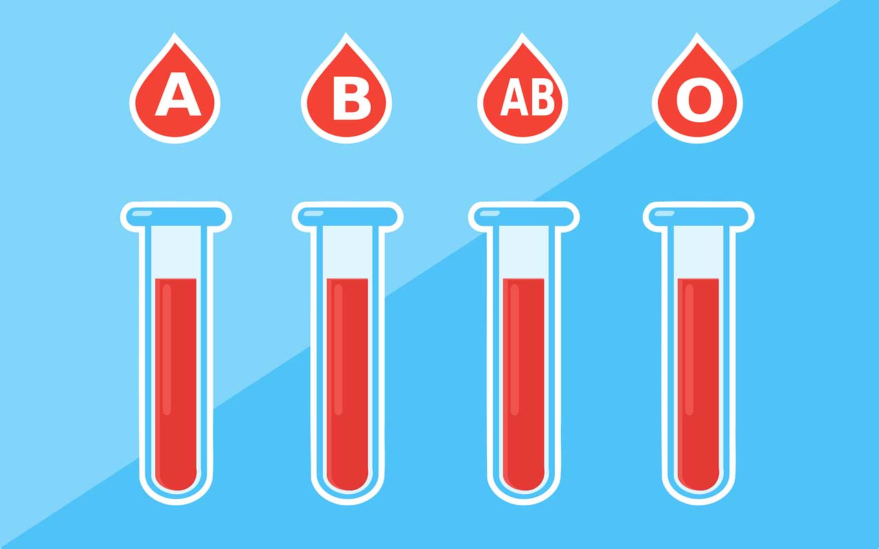 Athletic performance depends on one's blood type.