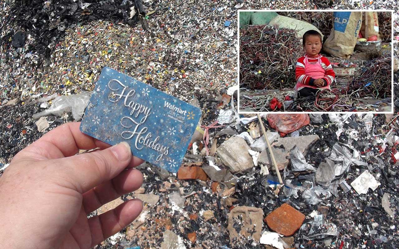 E-waste, China, dump