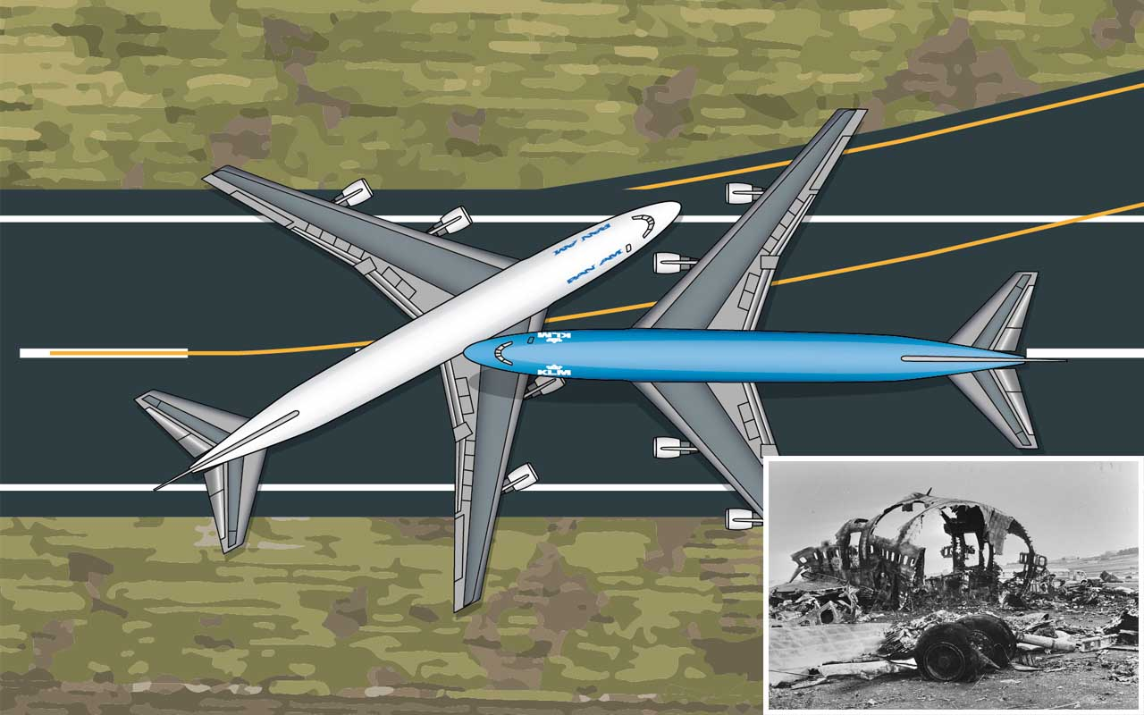 KLM Flight 4805 and Pan Am Flight 1736