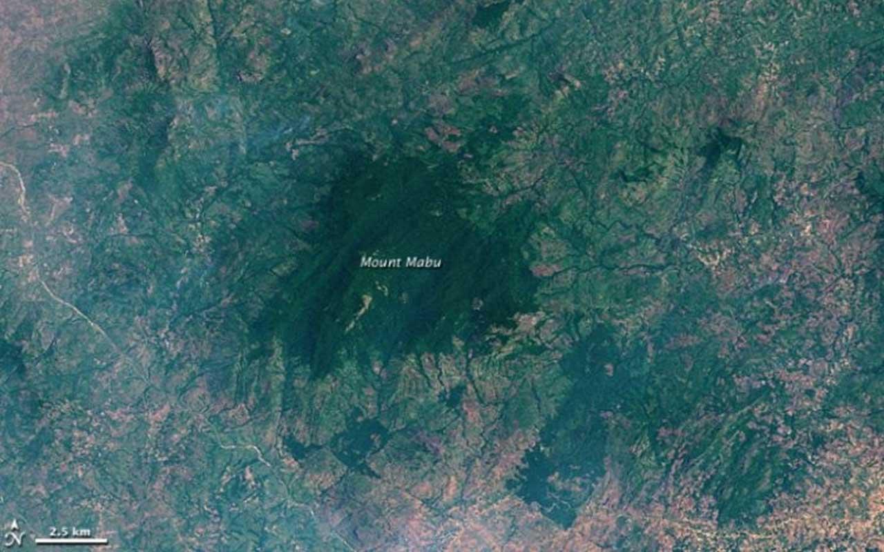 Mount Mabu, Mozambique, Google Earth