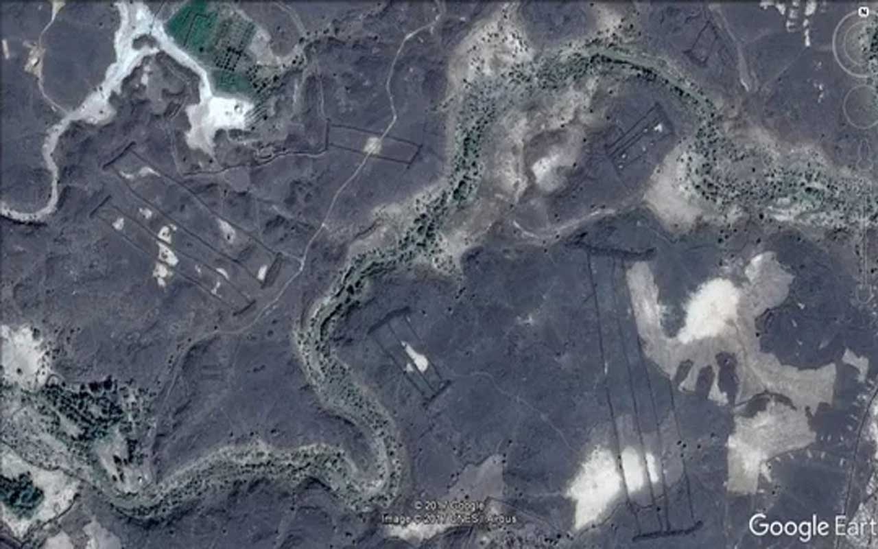 400 mysterious stone structures in Saudi Arabia