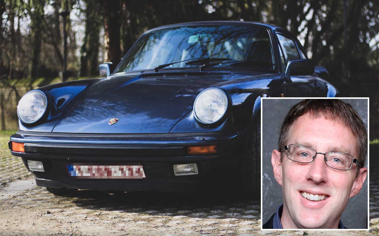Kevin Poulsen, Porsche, car, radio show