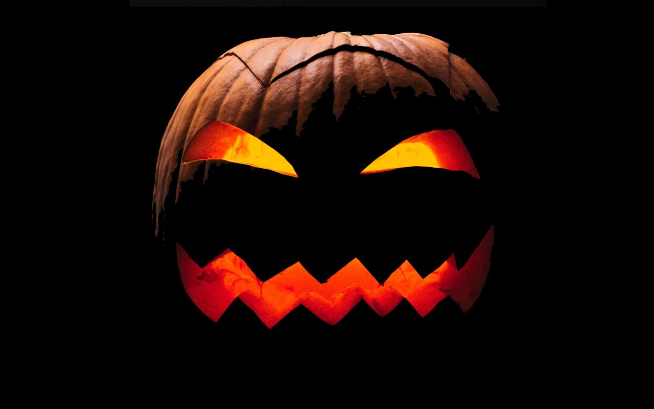 Jack-o-lantern, Halloween,