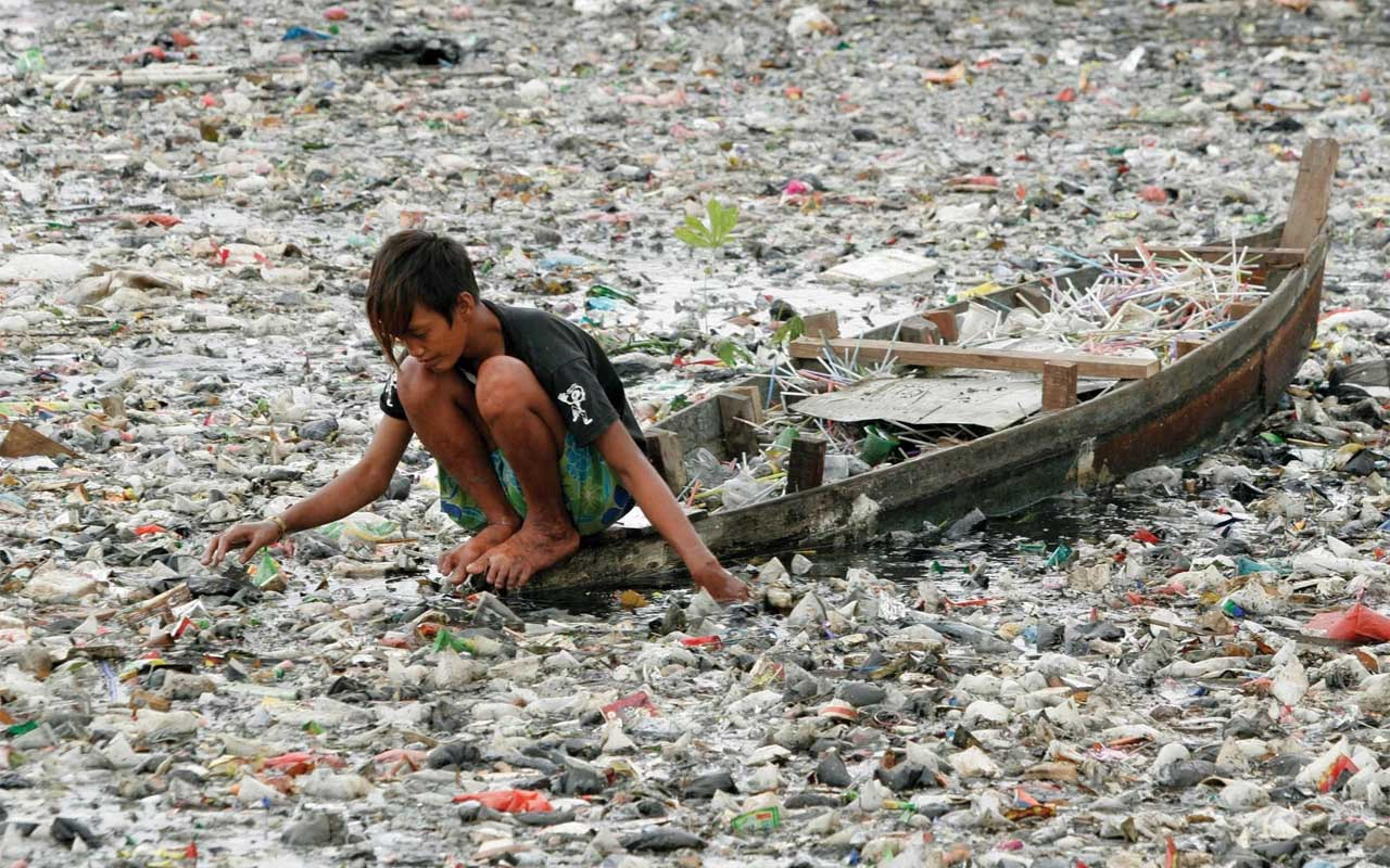 pollution, people, humanity, earth, life, trash,