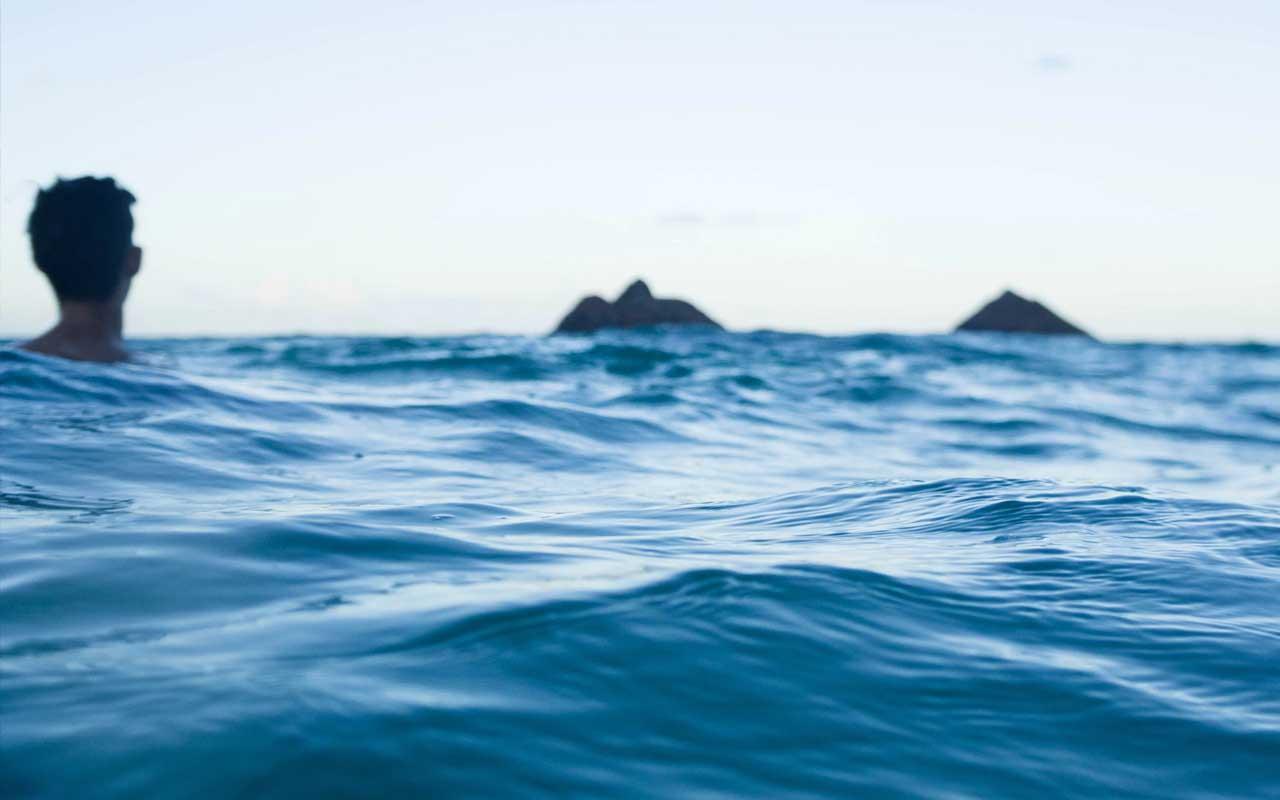 Riptide, ocean, waves, swimming, life