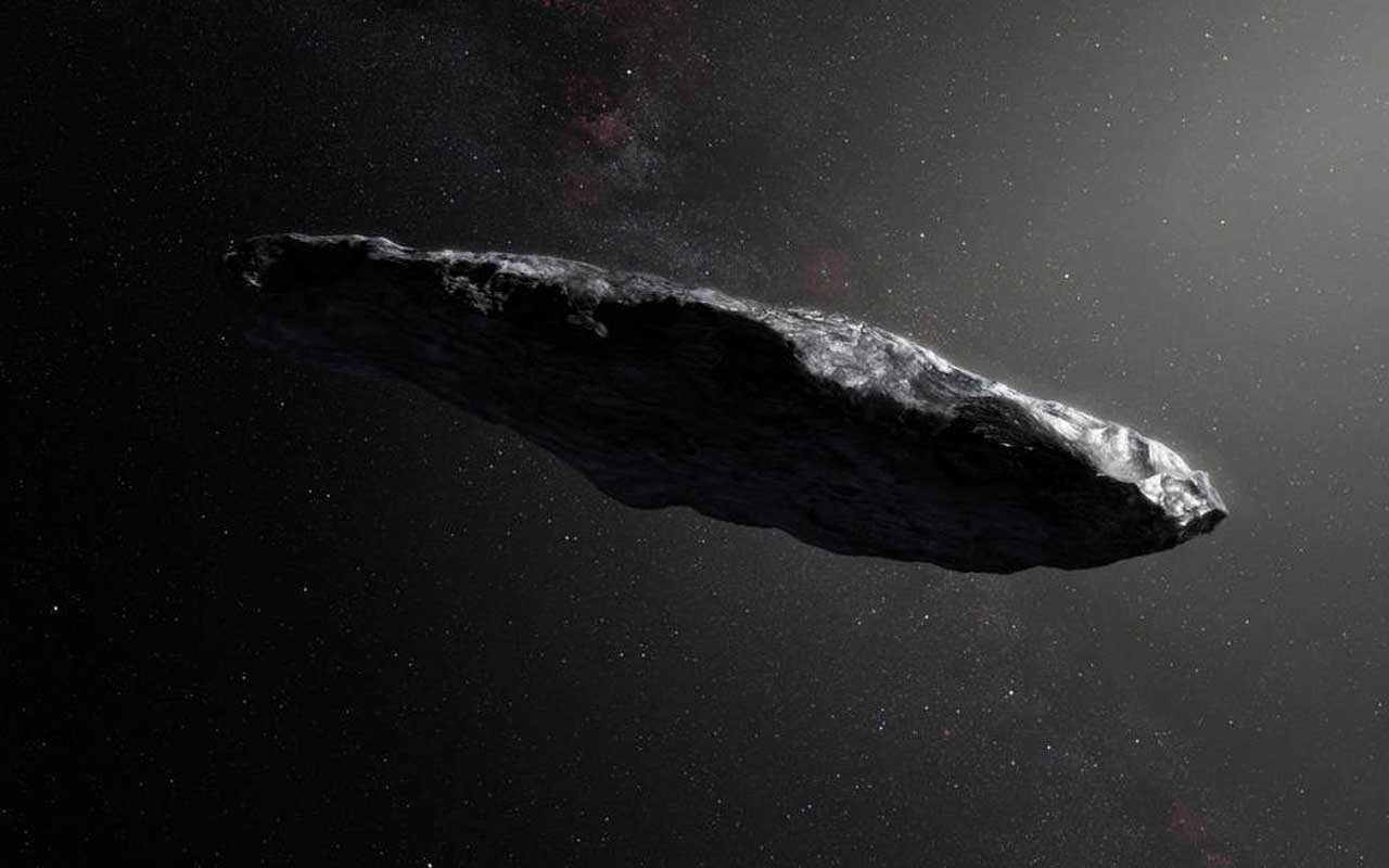 NASA, object called Oumuamua in our Solar System.