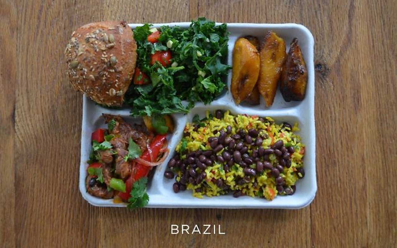 Food, Brazil, school, life, food, lunch, facts