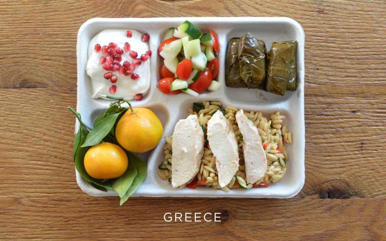 Greece, lunch, school, fact, program