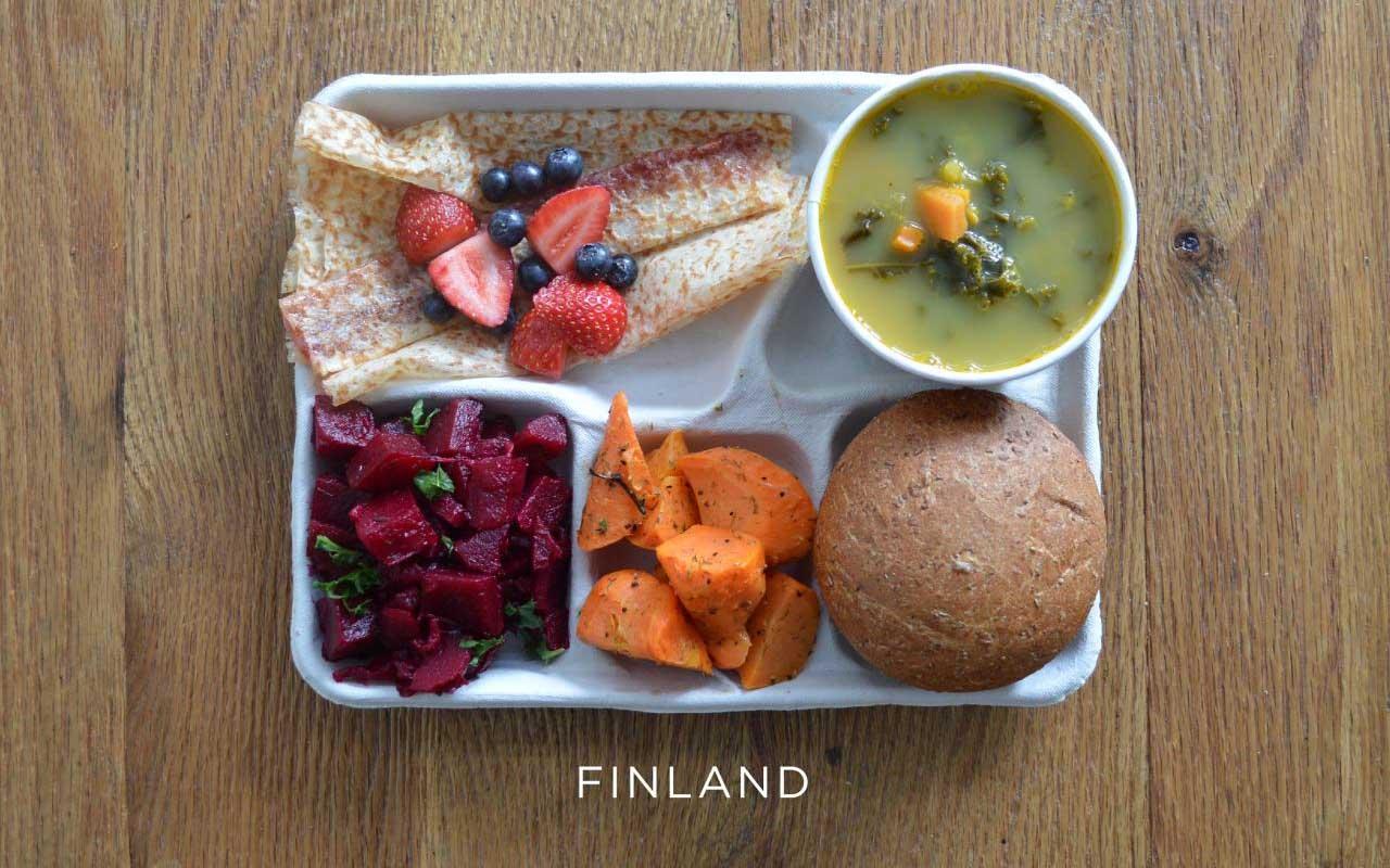 Finland, school, lunch, menu