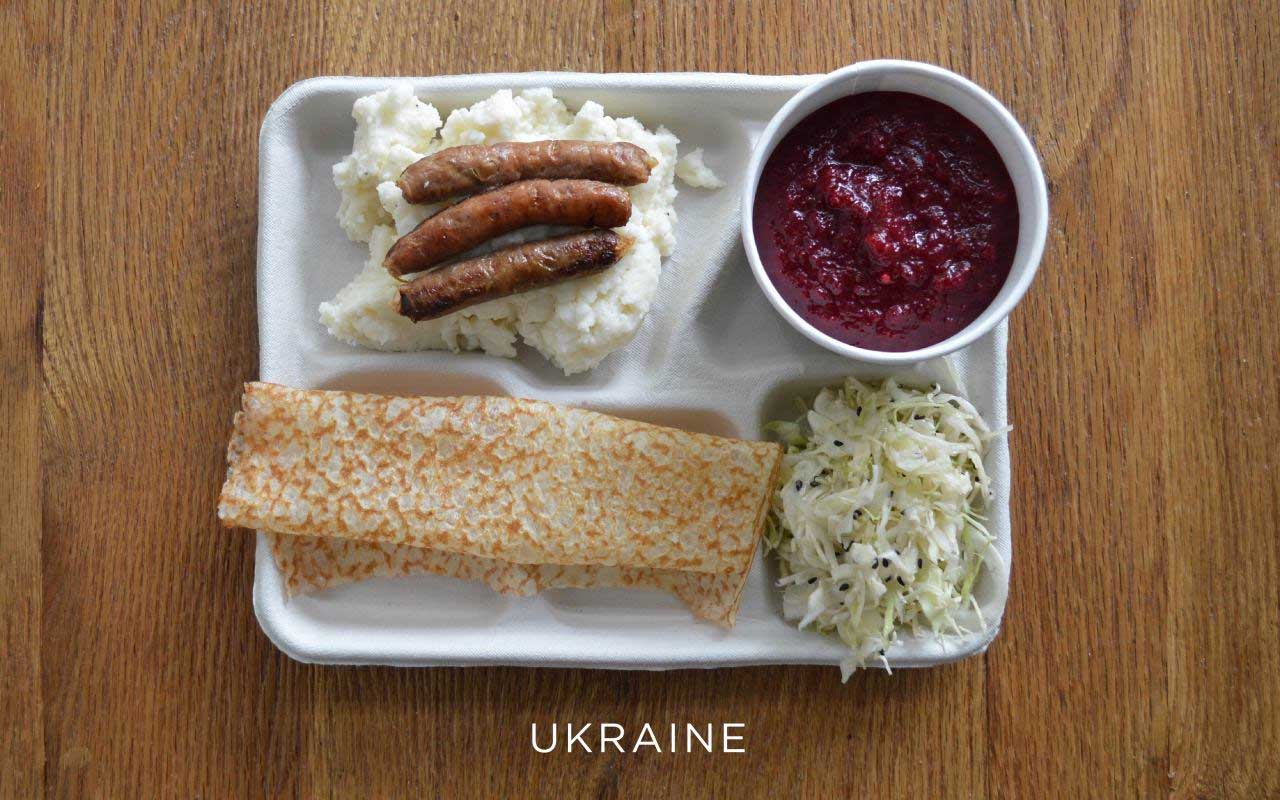 Ukraine, meals, lunch, school