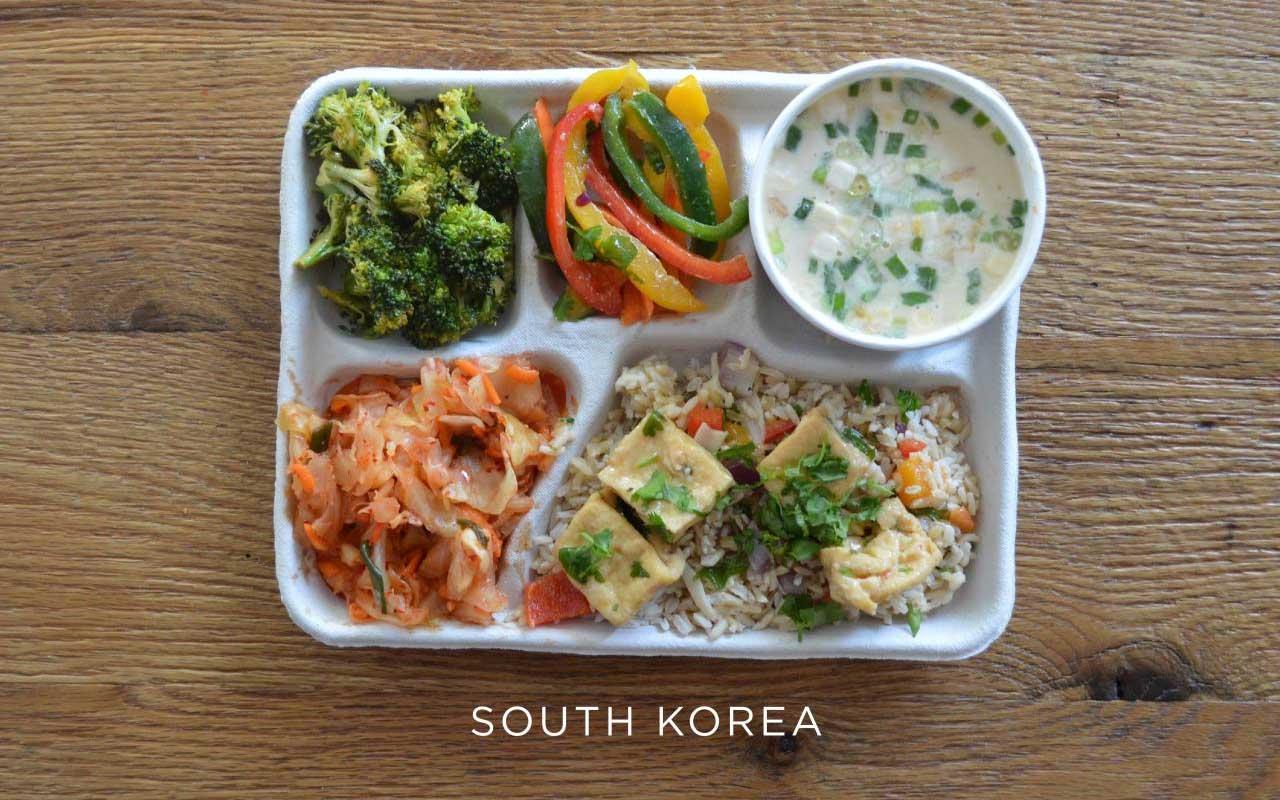South Korea, lunch, menu, fact, food