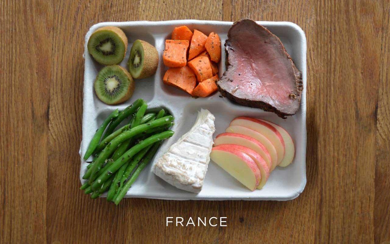 France, food, life, nutrition