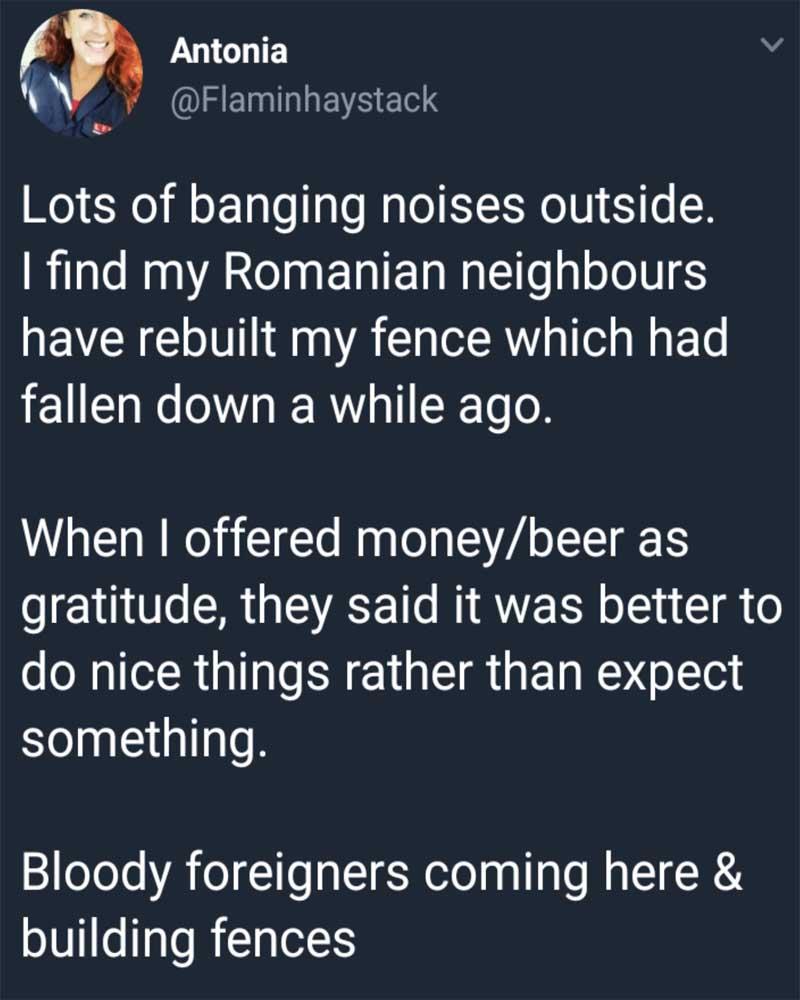 fence, neighbor, life, people,
