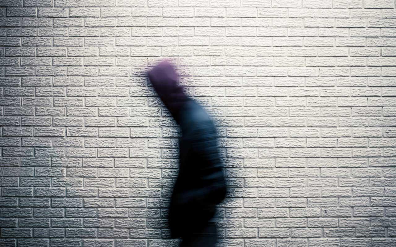 stalker, man, walking, Berlin, Germany