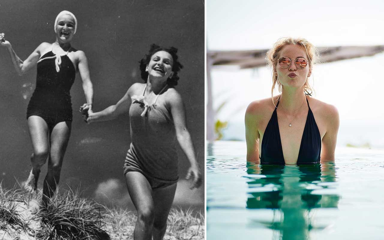 swimsuit, women, history, facts, classy