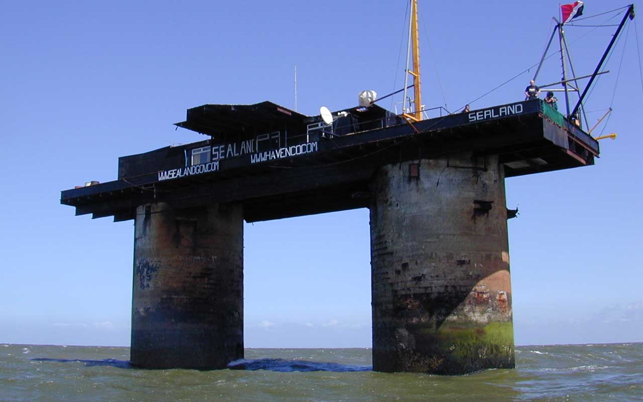 Sealand, facts, country, events