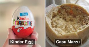 Kinder Egg, Casu Marzu, Food, foods, people