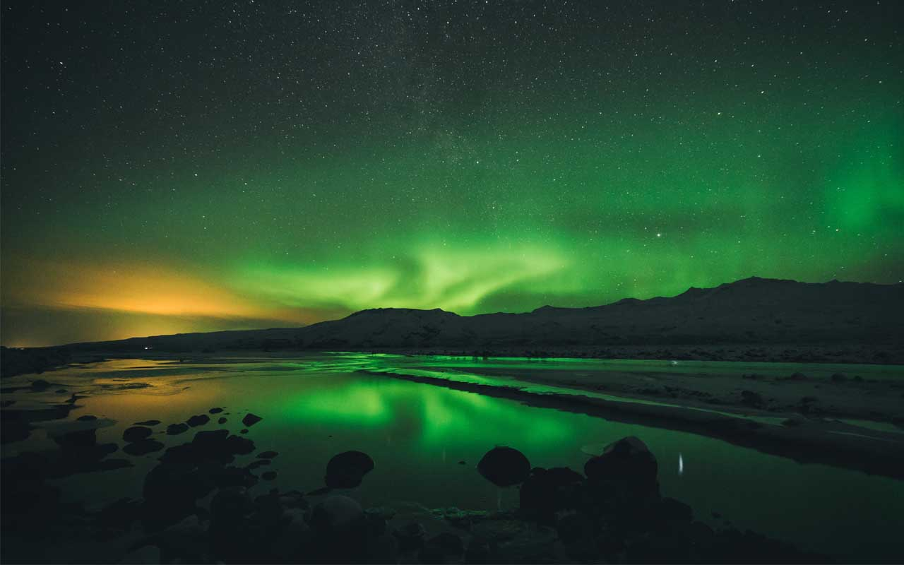 Iceland, Arctic, Northern Lights, facts