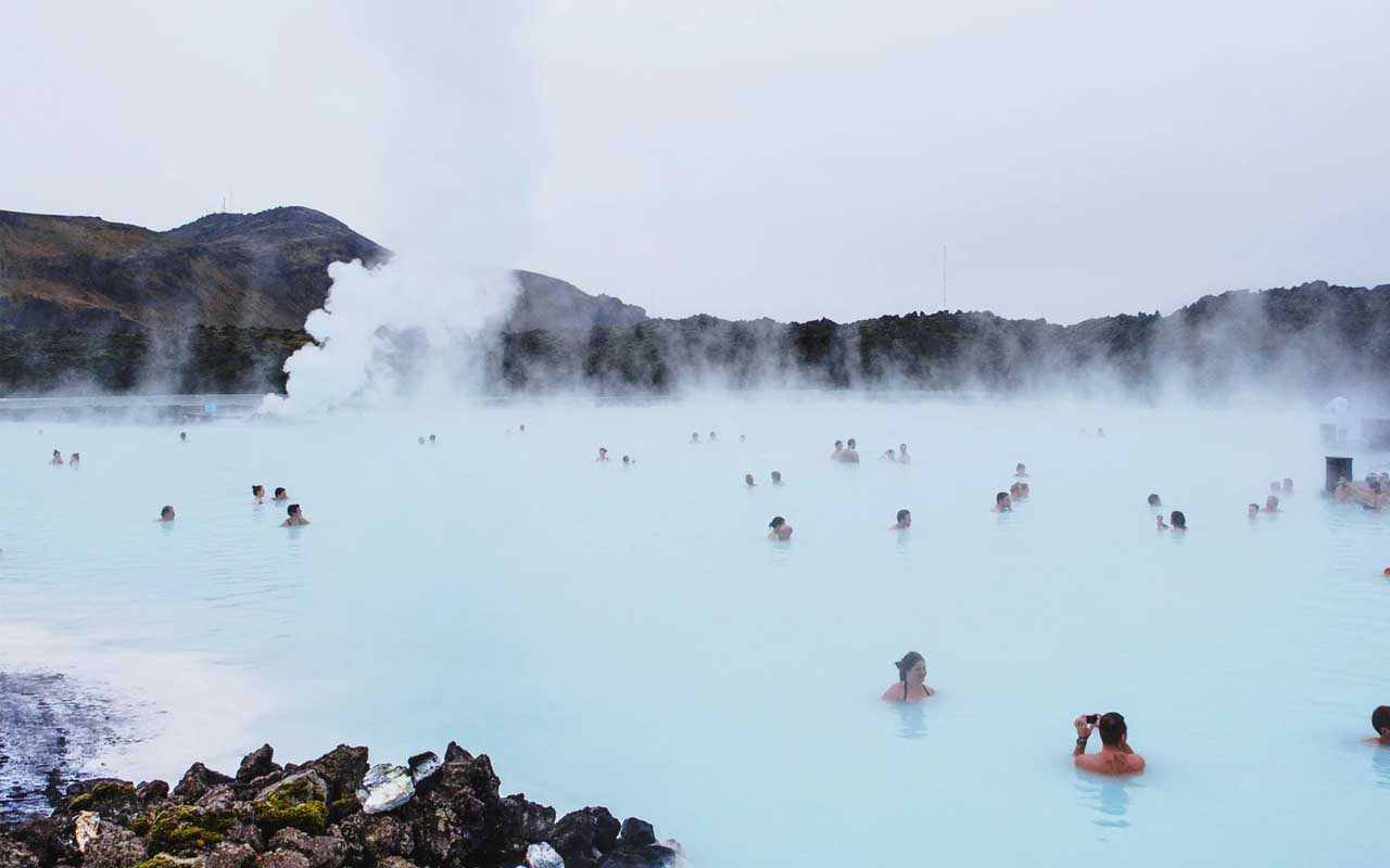 Blue lagoon, water, thermal energy