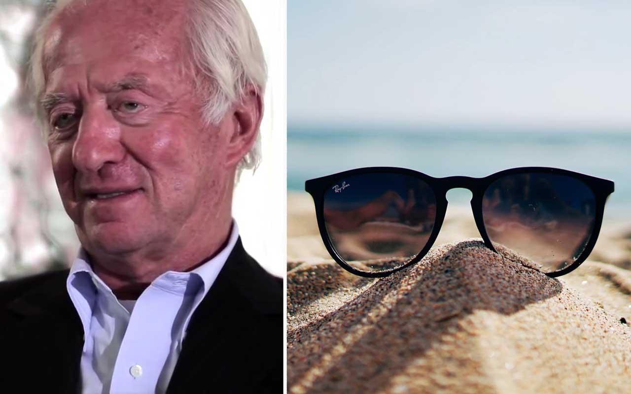 Leonardo Del Vecchio, Ray Ban, glasses, inspirational