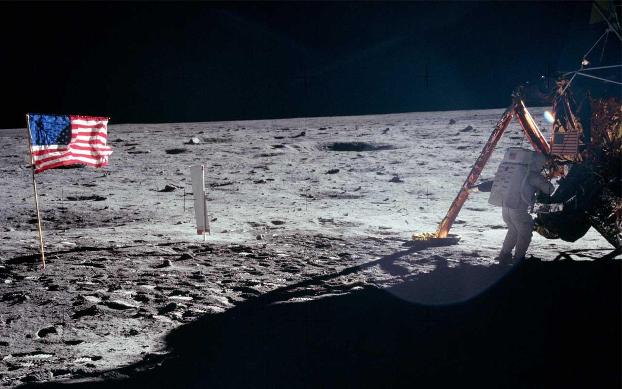 NASA, Neil Armstrong, Buzz Aldrin, Moon