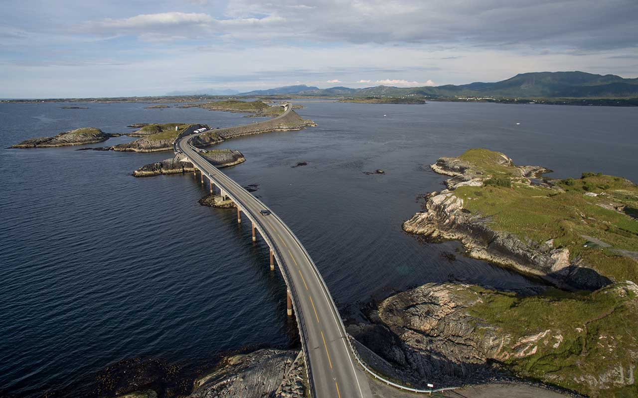 Atlantic Road, Norway, roads, places
