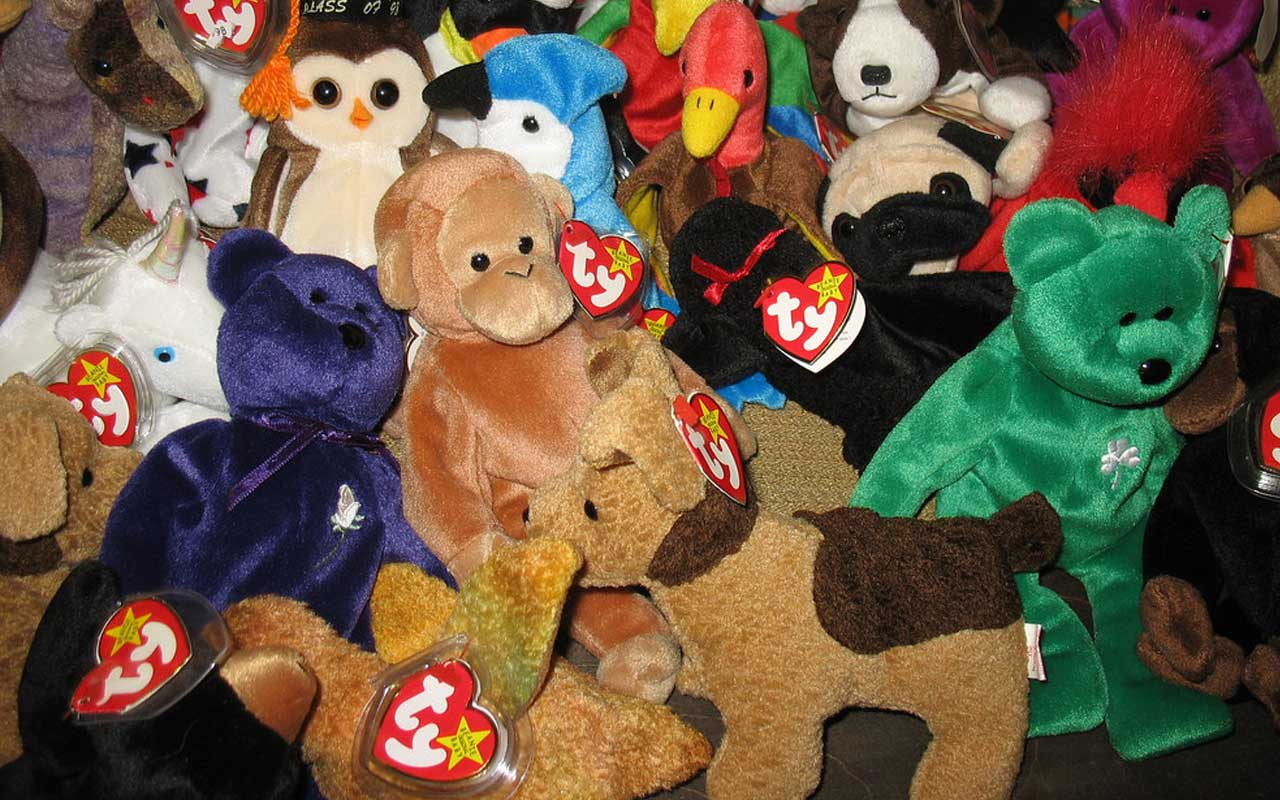 Beanie Babies, toys, inventions