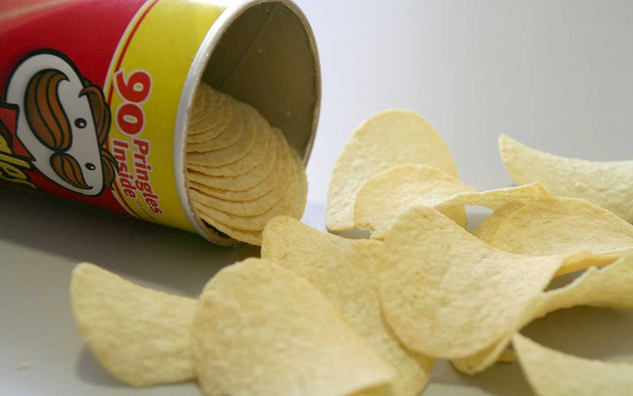 Pringles, can, inventor, facts