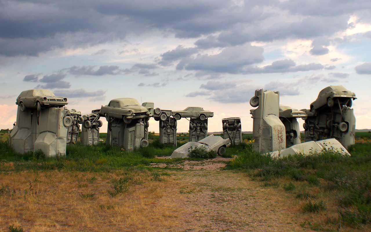 Carhenge, monuments, unusual, history
