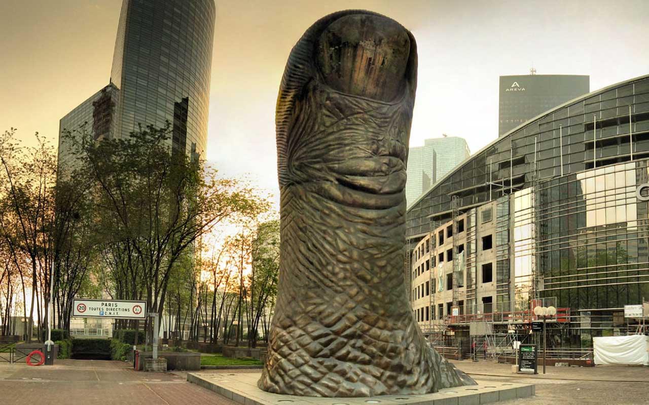 Le Pouce - Paris, finger, thumb
