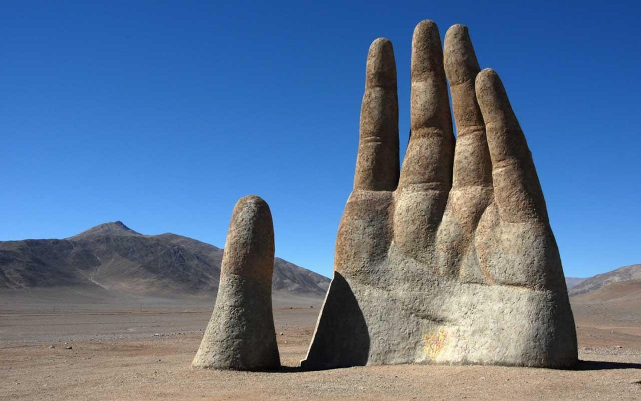 Hand Of The Desert, Atacama desert, continent