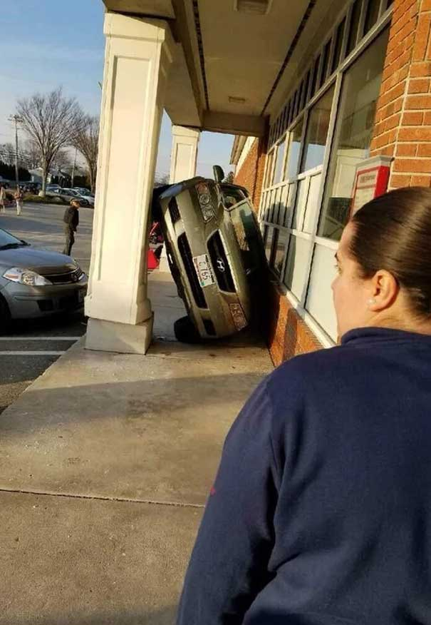 parking, car