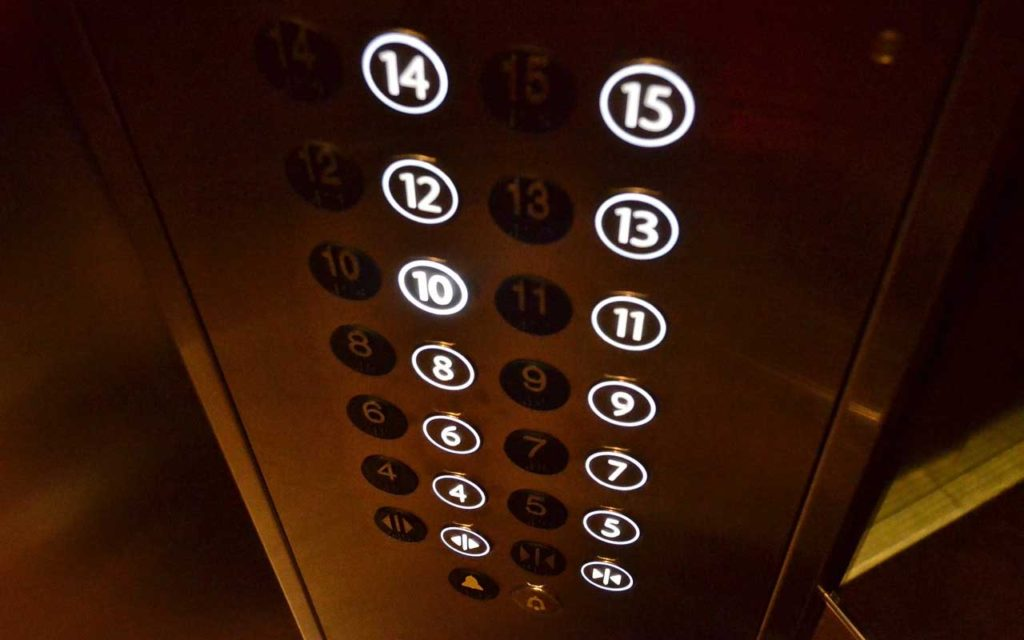 elevator, hack, button, life