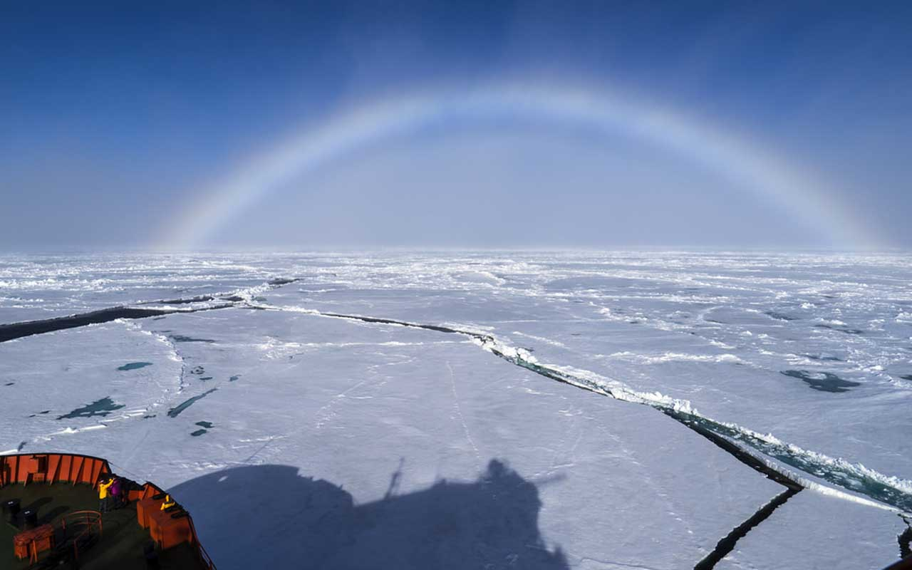 fogbow, Antarctica, facts, world