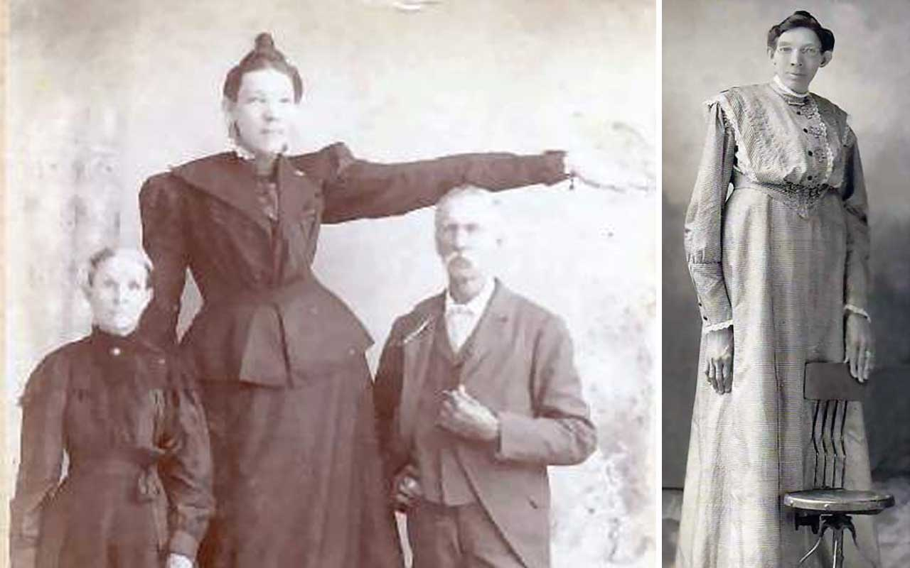 Ella Ewing, woman, tallest, facts