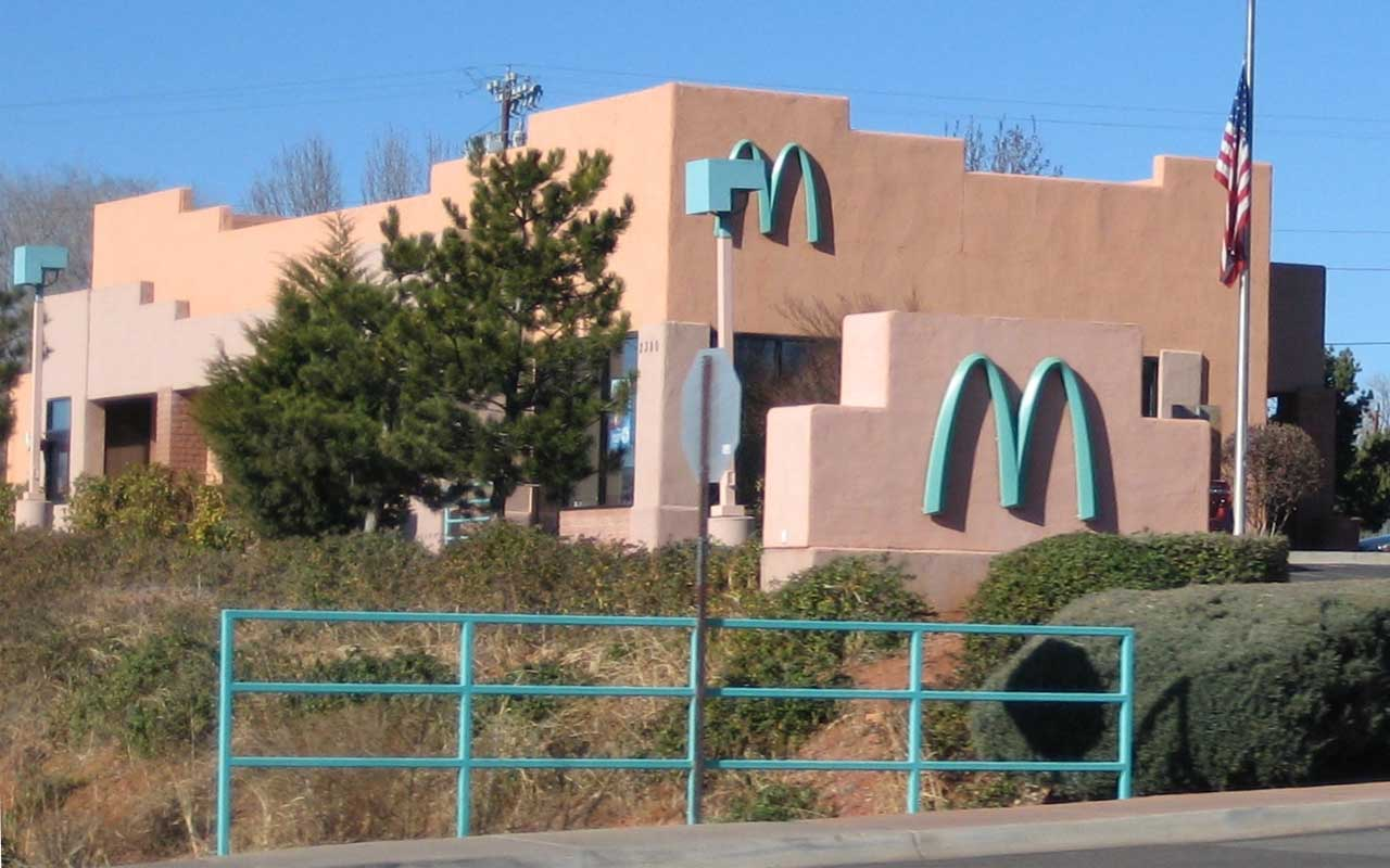 Sedona, Arizona, McDonald's, facts