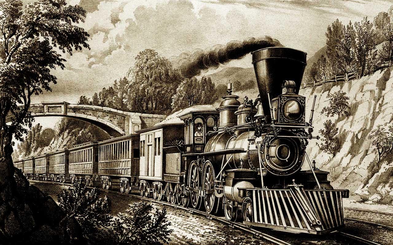 locomotive, train, steam engine, belief, facts