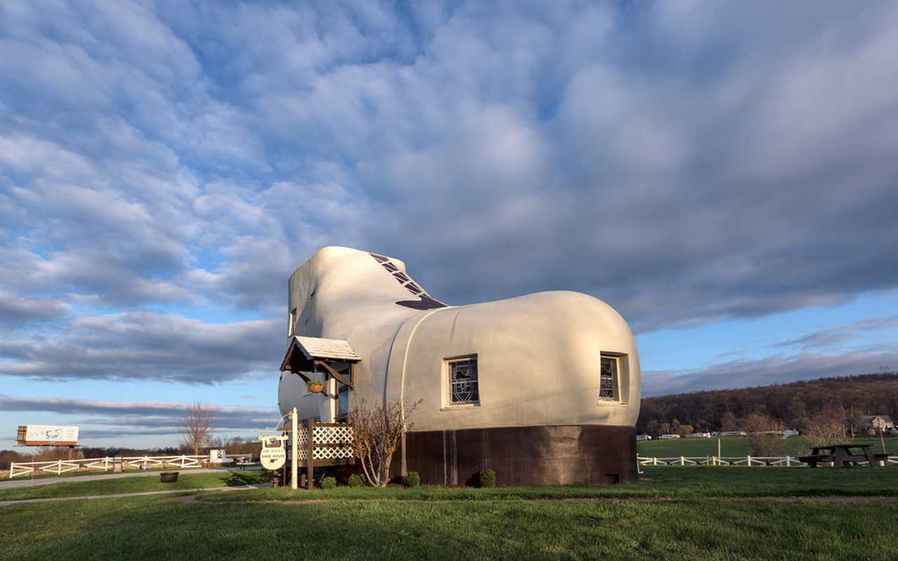 Haines Shoe House, Pennsylvania, facts