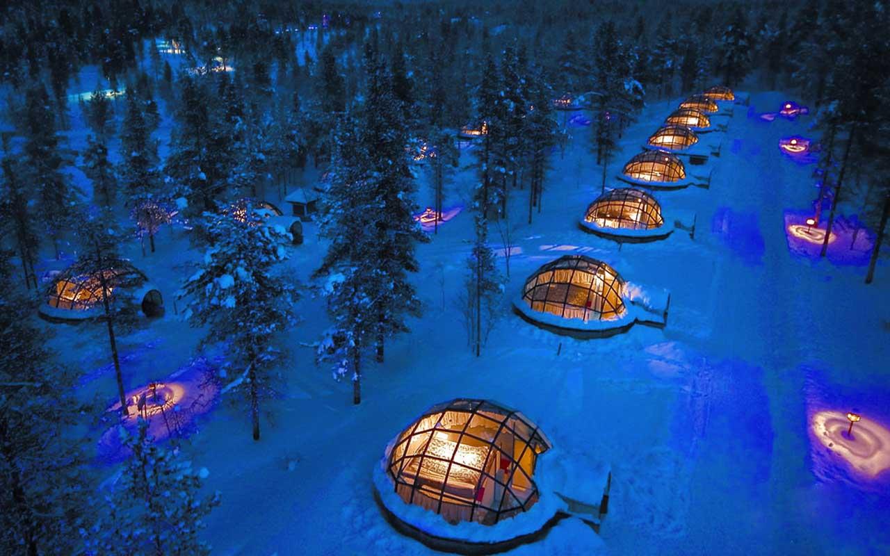 Kakslauttanen Arctic Resort, Finland, Switzerland, travel, facts