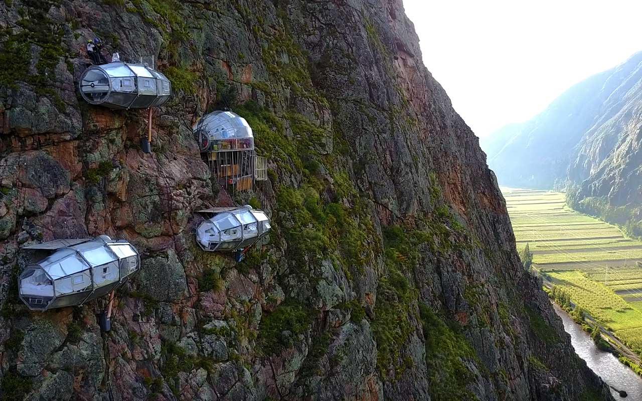Peru, glass igloo, mountain, life, sleeping, travel